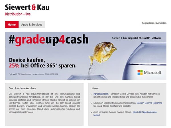 Siewert & Kau<br/>Microsoft Direct CSP, Germany 45